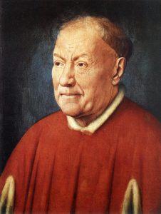 kardinal Niccolò Albergati, Jan van Eyck, 1431, olja på duk