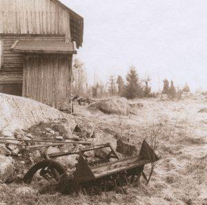 """ur bokprojektet """"Skomarka"""", 1991, Selentonat saltpapper (klicka för större bild)"""