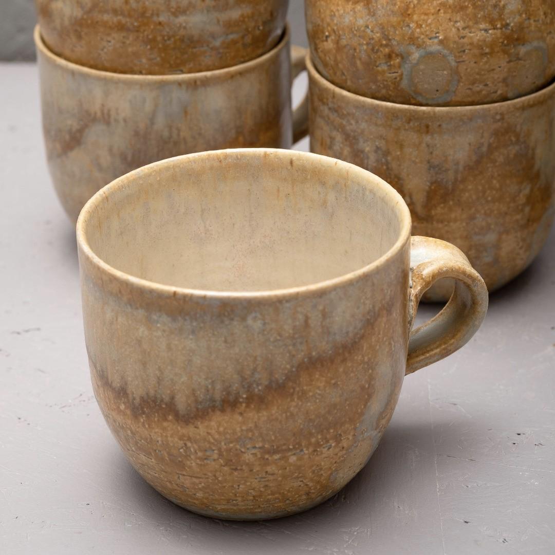 Nytt år! Nya muggar!#clay #stoneware #teabowls #sockerbruket33
